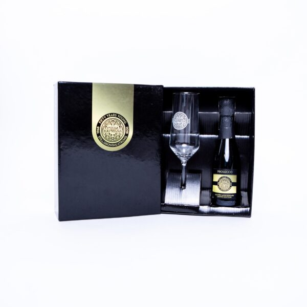 Gift Set - Branded Boxed Prosecco & Glass - Pizza Express